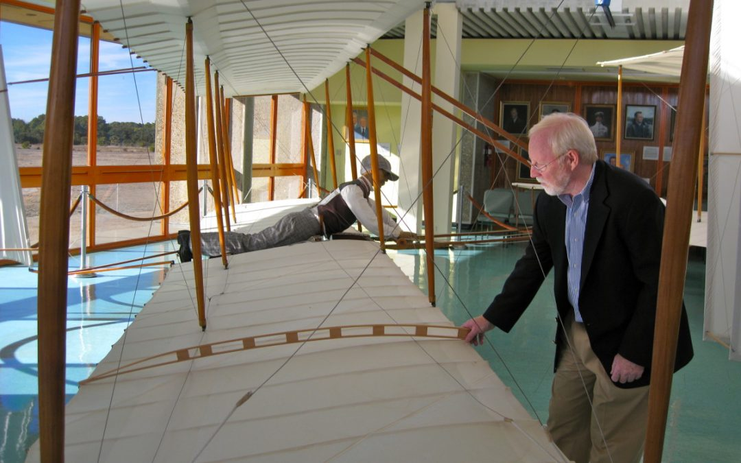 Wright Brothers National Memorial - The Exhibits - Glider Replica
