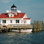 Roanoke Marshes Lighthouse on Roanoke Island
