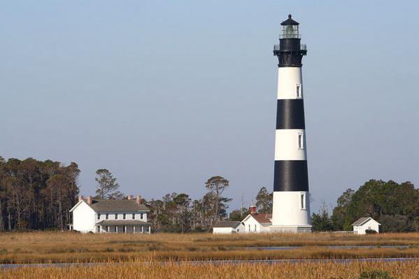 Bodie Island Lighthouse on Bodie Island