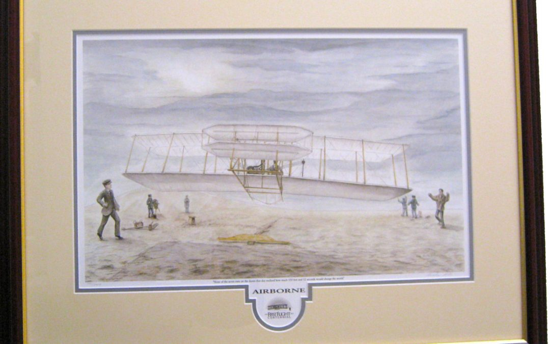 """Wright Brothers Centennial Collection - Shop Our Store - """"Airborne"""""""