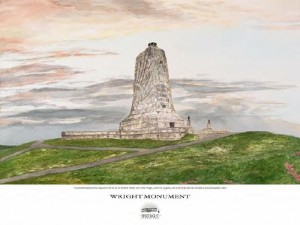 "Wright Brothers Centennial Collection - Shop Our Store - ""Wright Monument"""