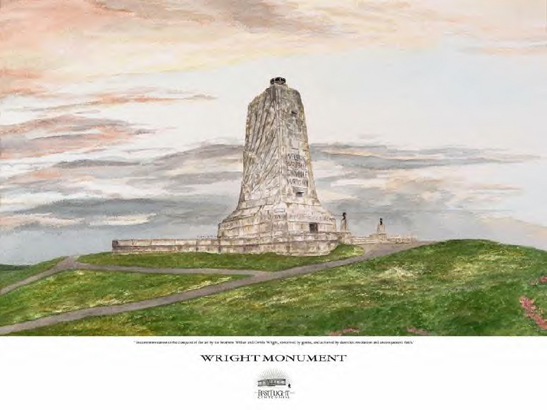 """Wright Brothers Centennial Collection - Shop Our Store - """"Wright Monument"""""""