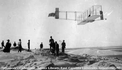 orville wright soaring