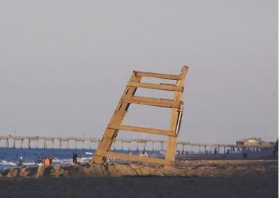 Lifeguard Chair in Nags Head