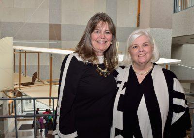 Amanda Wright Lane and Dawn Lowder, NCMOH Foundation Executive Director.